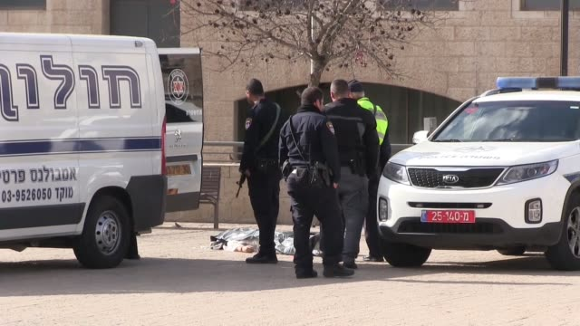 Palestinain shot dead after attempting to stab police near the old city of Jerusalem on 26 December 2015 Police officers spotted a man who aroused...