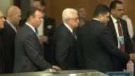 Palestinian President Mahmoud Abbas at 67th United Nations General Assembly on September 25 2012 in New York New York