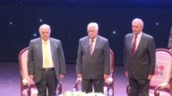 Palestinian President Mahmud Abbas launched on Monday a conference against corruption in the Red Crescent headquarters in Ramallah