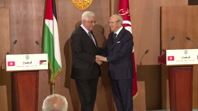 Palestinian President Mahmud Abbas says France wants to bring a resolution before the UN Security Council on behalf of the Palestinians