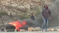Palestinian protesters gathered Tuesday on the road leading to the Israeli Ofer military prison a flashpoint in the long running conflict between...