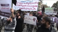 Palestinian radical islamists took part on Monday in a protest against a satirical cartoon of the Prophet Mohammed by French satirical weekly Charlie...