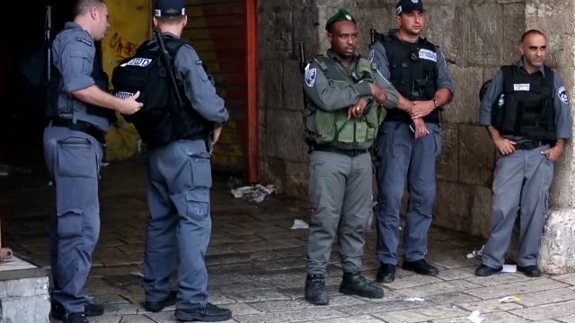 A Palestinian stabbed two police officers outside the Old City in east Jerusalem before being shot dead by security forces police said in the second...
