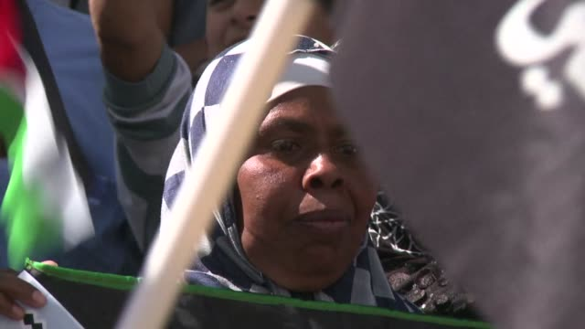 Palestinians gathered in Jerusalem to mark the 66th anniversary of the Nakba