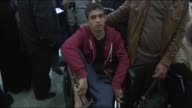 Palestinians injured by Israeli forces during the summer months and taken to hospitals in Turkey turn back their country after the treatmentsin...