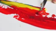 Palette knife tone paint