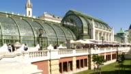 PAN Palmenhaus (Palm House) in the Vienna Hofburg Palace Burggarten