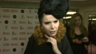 Paloma Faith on the support for the event the work the foundation does meeting Amy Winehouse at Amy Winehouse Foundation Ball Arrivals at Dorchester...
