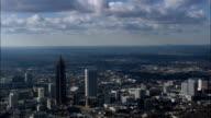 pan across Atlanta - Aerial View - Georgia,  Fulton County,  United States