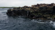Pan Across Galapagos Island
