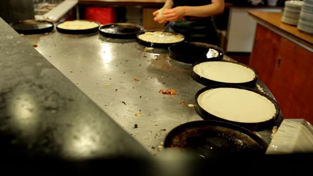 Pfanne Kuchen Frühstück Wüste für Kunden