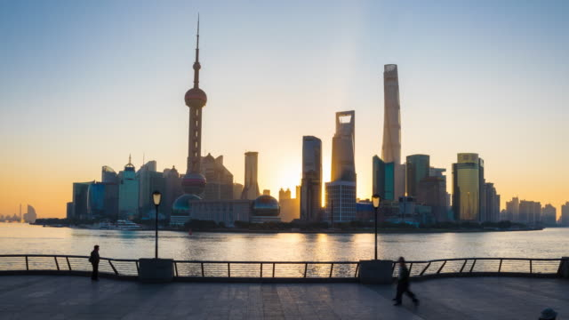 TL Pan L, The Bund and Pudong skyline at dawn