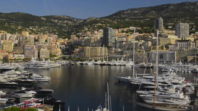 Pan L to R , Yacht Harbour,Port Hercule,La Condamine