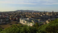 Pan Left Edinburgh City United Kingdom