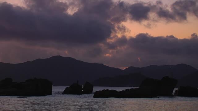 Pan Left Rocks Beach Praslin Victoria Mahe Seychelles