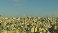 Pan Left Shot City Amman Governorate Jordan