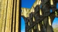 T/L Pan of Rievaulx Abbey