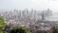 Pan over Panama City