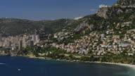 Pan R to L along Mediterranean Coast to Monaco