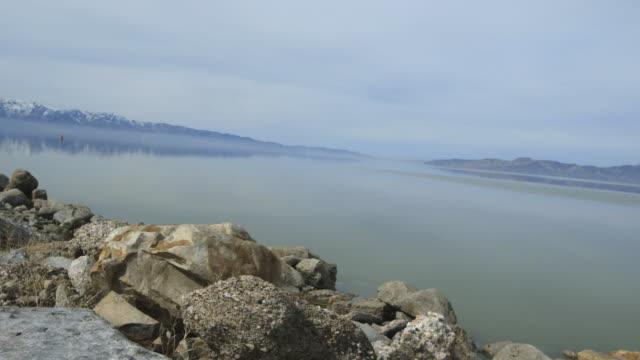 Pan right, Great Salt Lake