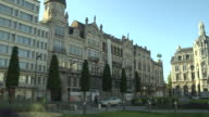 Pan Right Shot Antwerp City Belgium
