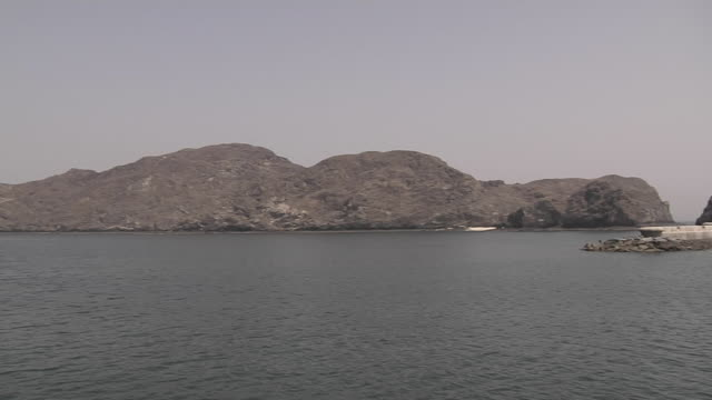 Pan Right Shot Fort Muscat Oman