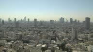 Pan Right Shot Tel Aviv Aerial Shot Tel Aviv Israel