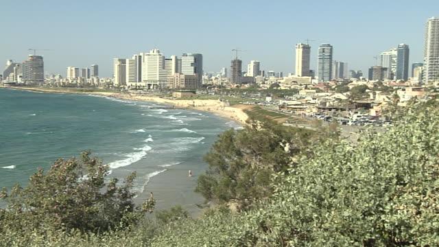 Pan Right Tel Aviv City israel