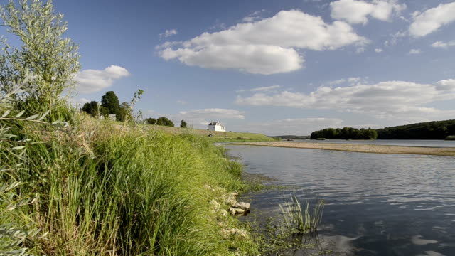 Pan Shot of the river Loire