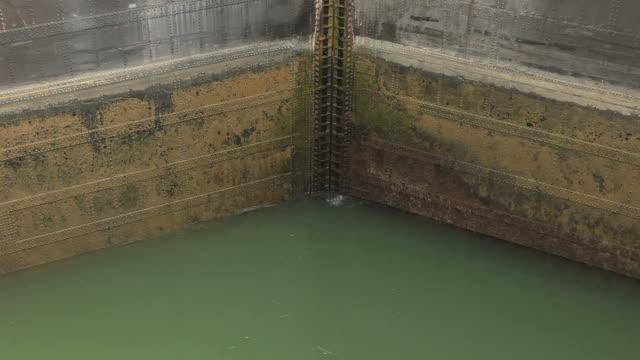 Panama Canal Lock Door Time-Lapse HD