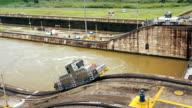 Panama canal tug