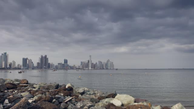 Panama City Clouds Time Lapse