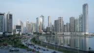 Panama City Traffic Time Lapse