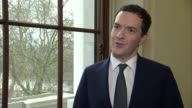 David Cameron faces MPs amid tax affairs row ENGLAND London INT George Osborne MP interview SOT I'm the first Chancellor ever to publish details of...