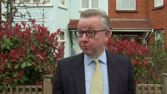 David Cameron faces MPs amid tax affairs row ENGLAND London Michael Gove MP speaking to press SOT I think he's gone far further than any predecessor...