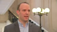 David Cameron publishes six years of tax returns London Westminster INT Dominic Raab MP interview SOT