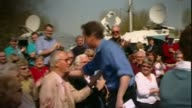David Cameron publishes six years of tax returns LIB FILE May 2010 David Cameron MP greeting his parents seated in crowd during 2010 General Election...