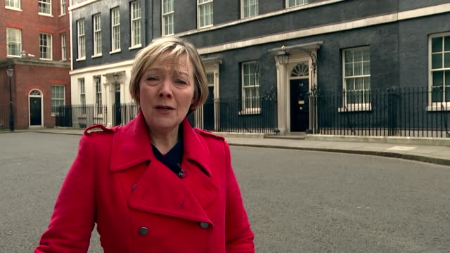 David Cameron publishes six years of tax returns Downing Street Reporter to camera