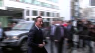 David Cameron publishes six years of tax returns T09041619 / TX ENGLAND London Grand Connaught Rooms PHOTOGRAPHY*** David Cameron MP getting out of...