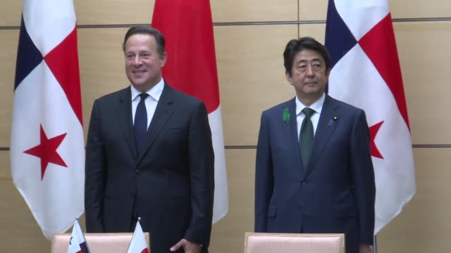 Panamanian President Juan Carlos Varela pledges that his country will stand at the forefront of a global push for greater financial transparency in...