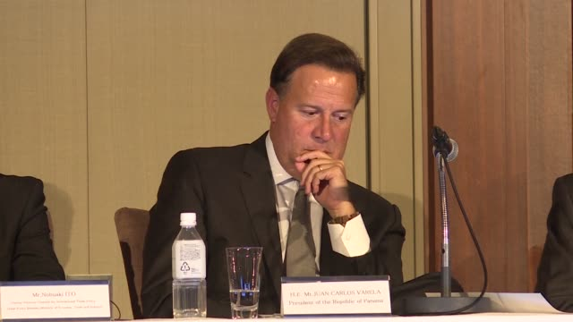 Panamian President Juan Carlos Varela calls for global efforts to tackle the Panama Papers scandal insisting it is not a problem just for his country...