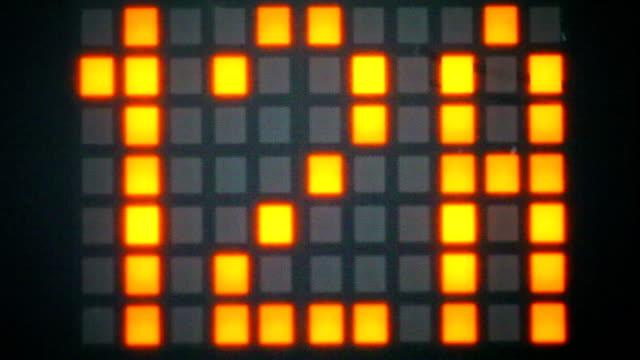 LED panel elevator