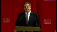 Panetta speech at King's College London Today as I come to the end of a weeklong trip that has taken me to a number of European capitals from...