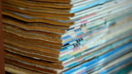 paning up : book heap edge