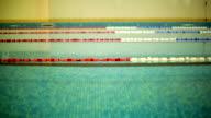 Panning Across Swimming Pool