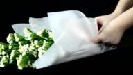 panning: organizzare bouquet da sposa