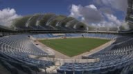 Panning Fisheye Lens Shot Arena das Dunas in Natal Brazil The 2014 World Cup Stadium In Natal has officially been opened on Wednesday the 22nd of...