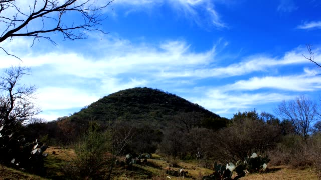 Panning Hill Country Time Lapse