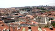HD panning: Lisbon aerial view Portugal
