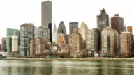 HD panning: New York City midtown Skyline